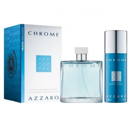 AZZARO CHROME 100ML ZESTAW